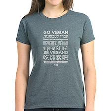 Ladies Go Vegan T-Shirt