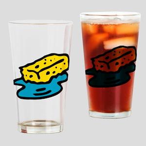 Water Sponge Drinking Glass