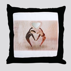 Lovers - Throw Pillow