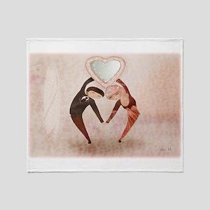 Lovers - Throw Blanket