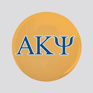 Alpha Kappa Psi Letters Button