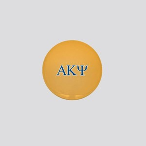 Alpha Kappa Psi Letters Mini Button