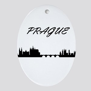 Prague Ornament (Oval)