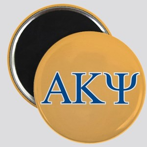 Alpha Kappa Psi Letters Magnet