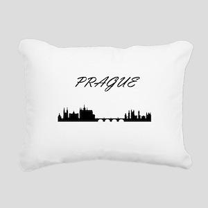 Prague Rectangular Canvas Pillow