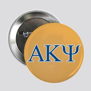 "Alpha Kappa Psi Letters 2.25"" Button"