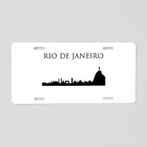 Rio De Janeiro Aluminum License Plate