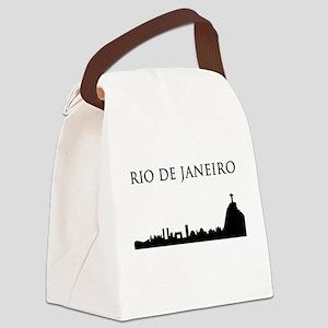 Rio De Janeiro Canvas Lunch Bag