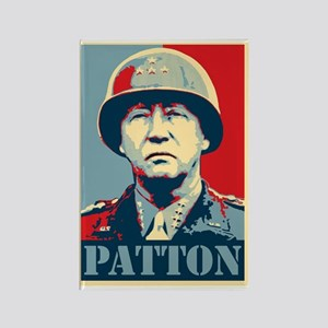 General Patton Rectangle Magnet