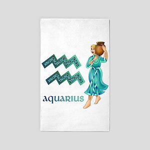 Aquarius 3'x5' Area Rug