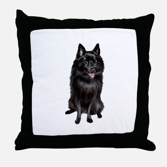 Schipperke (A) Throw Pillow