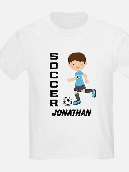 Personalized Soccer Sports Boy T-Shirt