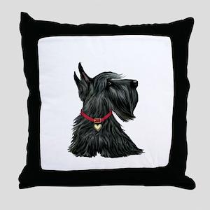 Scottish Terrier 1 Throw Pillow