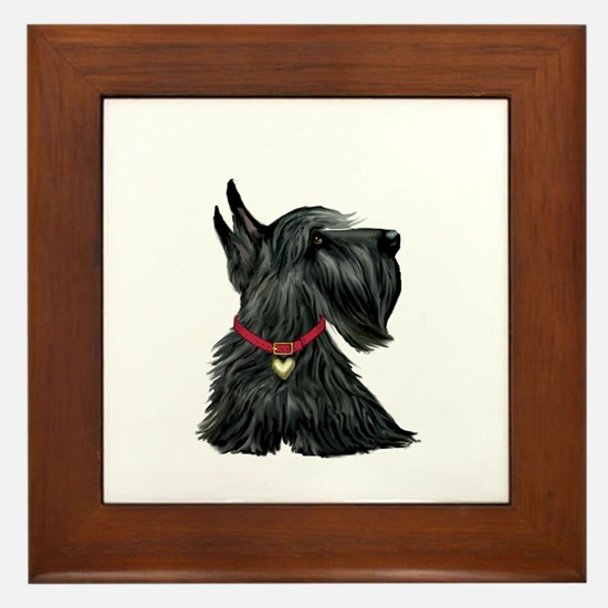 Scottish Terrier 1 Framed Tile
