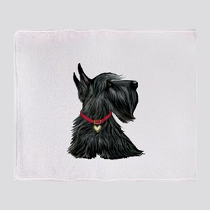 Scottish Terrier 1 Throw Blanket