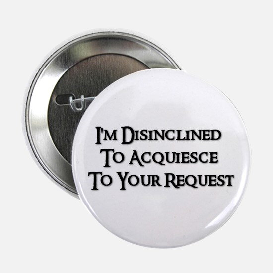 """DISINCLINED 2.25"""" Button (10 pack)"""