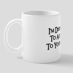 DISINCLINED Mug