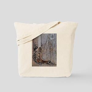 cowboy boots barnwood Tote Bag