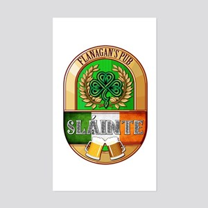 Flanagan's Irish Pub Sticker (Rectangle)