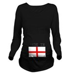 MADE IN ENGLAND Long Sleeve Maternity T-Shirt