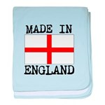 MADE IN ENGLAND baby blanket