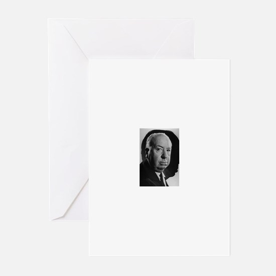 Alfred Hitchcock Greeting Cards