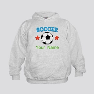 Personalized Soccer Sports Boy Hoodie