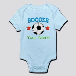 Personalized Soccer Sports Boy Body Suit
