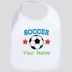 Personalized Soccer Sports Boy Bib