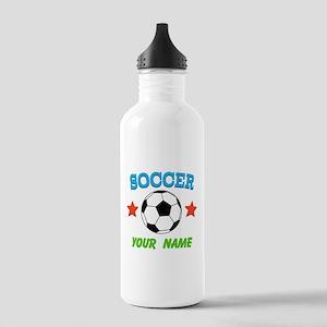 Soccer Sports Boy Water Bottle