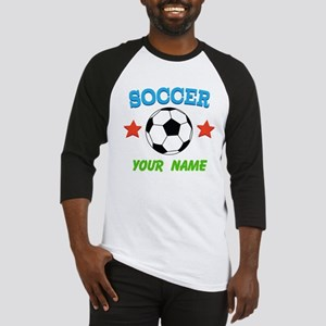 Personalized Soccer Ball Name Baseball Jersey