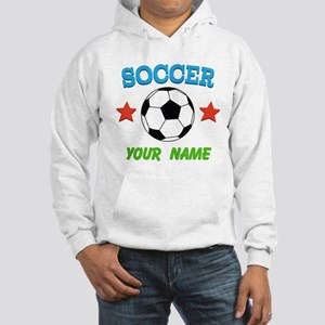 Personalized Soccer Ball Name Hoodie