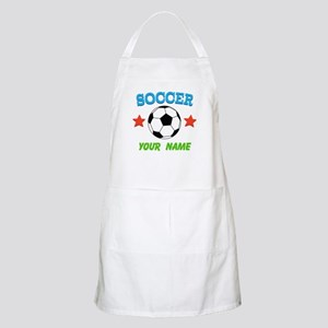 Personalized Soccer Ball Name Apron