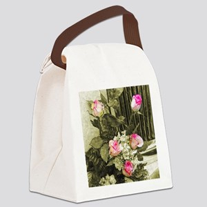 Wedding Bouquet Canvas Lunch Bag