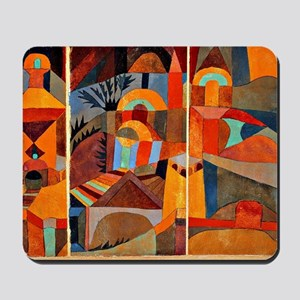 Klee - Temple Gardens Mousepad