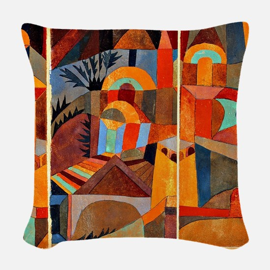 Klee - Temple Gardens Woven Throw Pillow