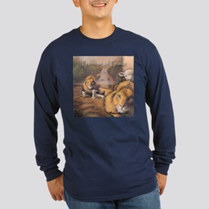 """Promise of Peace"" Fine Art Long Sleeve Dark T"