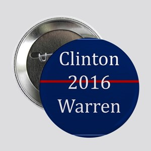 "Clinton Warren 2016 2.25"" Button"