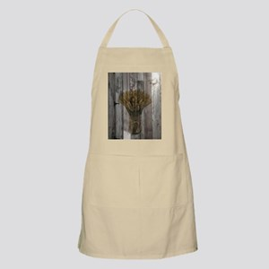 barnwood wheat bouquet Apron