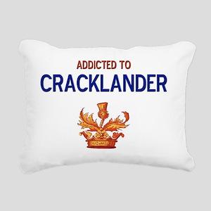 Addicted to Cracklander Rectangular Canvas Pillow