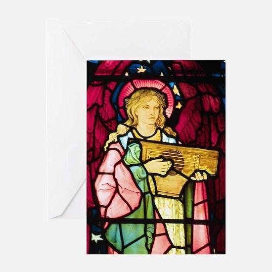Musical Angel Greeting Card