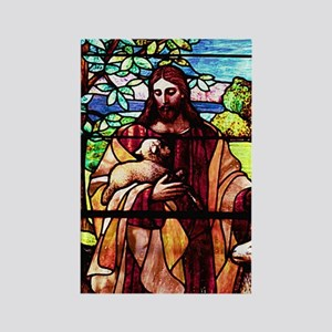 Jesus Good Shepherd Rectangle Magnet