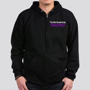 Charmed TV Fan Zip Hoodie (dark)