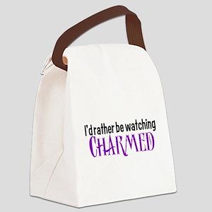 Charmed TV Fan Canvas Lunch Bag
