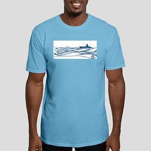 Sailfish Kayak Ride T-Shirt - Blue Print