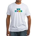 SCIENCE SHIRT NO FARTING T-SH Fitted T-Shirt
