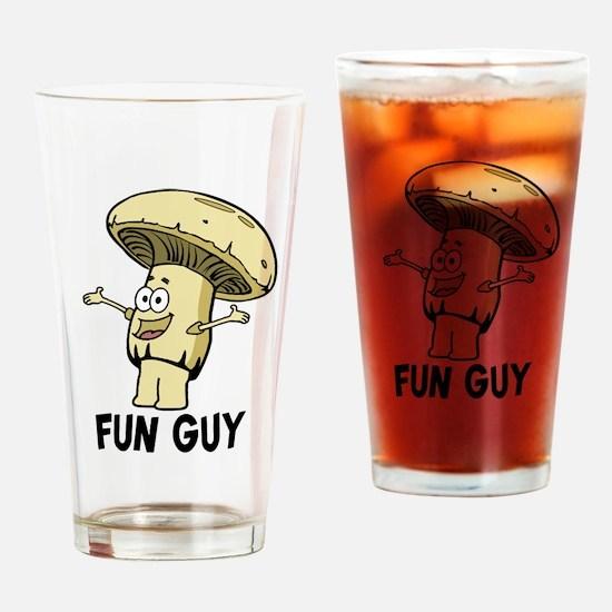 Fungi Fun Guy Drinking Glass