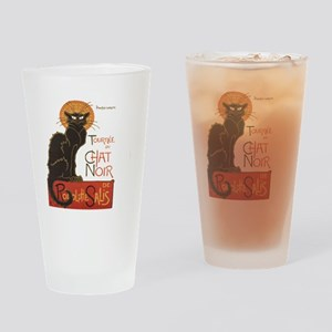 Steinlen Cat Drinking Glass