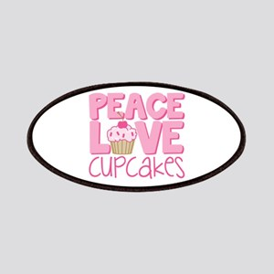 Peace Love Cupcake Patches