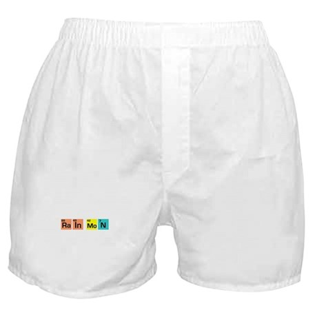 SMART NERD RAIN MAN T-SHIRT S Boxer Shorts